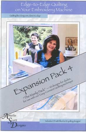 Edge To Edge Quilting Expansion Pack 4 ASD212
