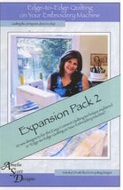 Edge to Edge Quilting Expanded Pack 2 ASD208