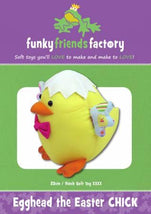 Egghead Easter Chick Pattern FF4743