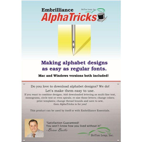 Embrilliance Alpha Tricks - AT10
