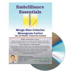 Embrilliance Essentials.Embroidery Software - BB-ESS10