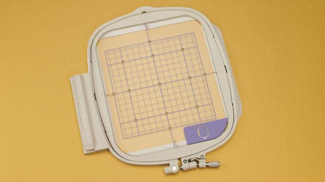 "Embroidery Frame and Grid 7""x7"" - Babylock BLMA-150"