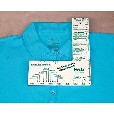 Embroidery Placement Ruler - Adult CNEPR1