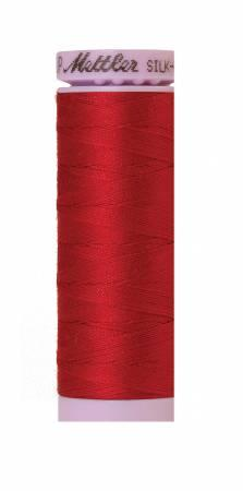 Silk-Finish Country Red 50wt 150M Solid Cotton Thread