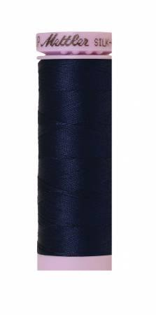 Silk-Finish Navy 50wt 150M Solid Cotton Thread
