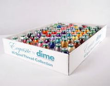 Exquisite 60 Pack Thread Assortment (1000m Polyester) - DIME TWCA