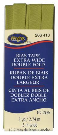 Extra Wide Double Fold Bias Tape 3yds-Dill Pickle 117206410