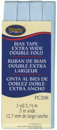 Extra Wide Double Fold Bias Tape Blue- 117206515