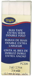 Extra Wide Double Fold Bias Tape Oyster-  117206028