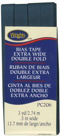 Extra Wide Double Fold Bias Tape Peacock-  1172061235