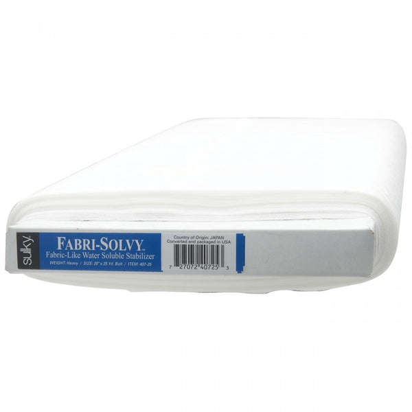Fabri-Solvy Washaway Stabilizer White 20in wide