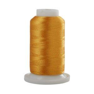 Fine Line Embroidery Thread 60wt 1500m-Zinnia Gold T642