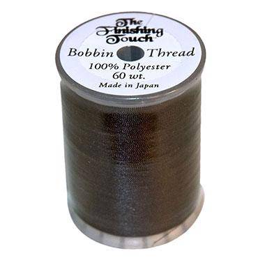 Finishing Touch Bobbin Thread 1200yd Spool - Black