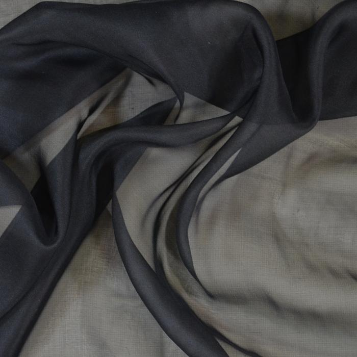 Flat Chiffon 6mm Lula-Black