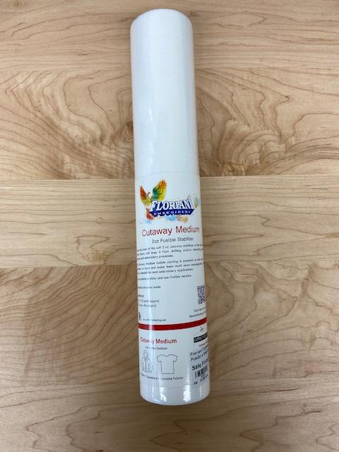 "Floriani Cutaway Medium Fusible Stabilizer 15""x10yds FCMF1510"