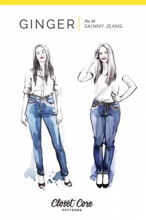 Ginger Skinny Jeans Pattern CCP03