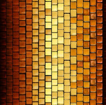 Glass Menagerie-Tile Stripe Rust 1649-28036-T
