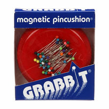 Grabbit Magnetic Pincushion Red - GRABITRED