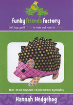 Hannah Hedgehog Pattern  FF4088