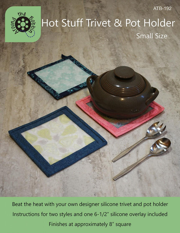 Hot Stuff Trivet & Pot Holder Pattern Small Size ATB-192