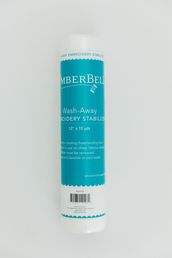 "Kimberbell Embroidery Stabilizer-Wash-Away 12""x10yds KDST120"