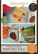 Kimberbell Pennants & Banners Happy Fall Yall KD561