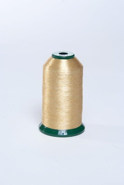 KingStar Metallic Embroidery Thread 40wt 1000m-Gold MG-1