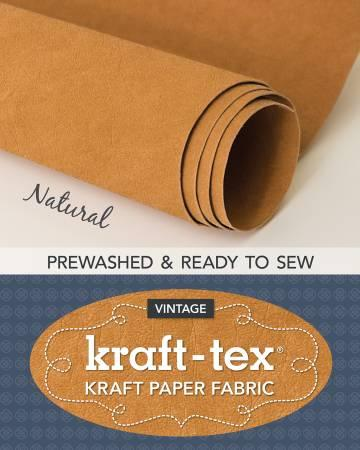 Kraft-Tex Roll Natural Hand Dyed & Prewashed 20405CT