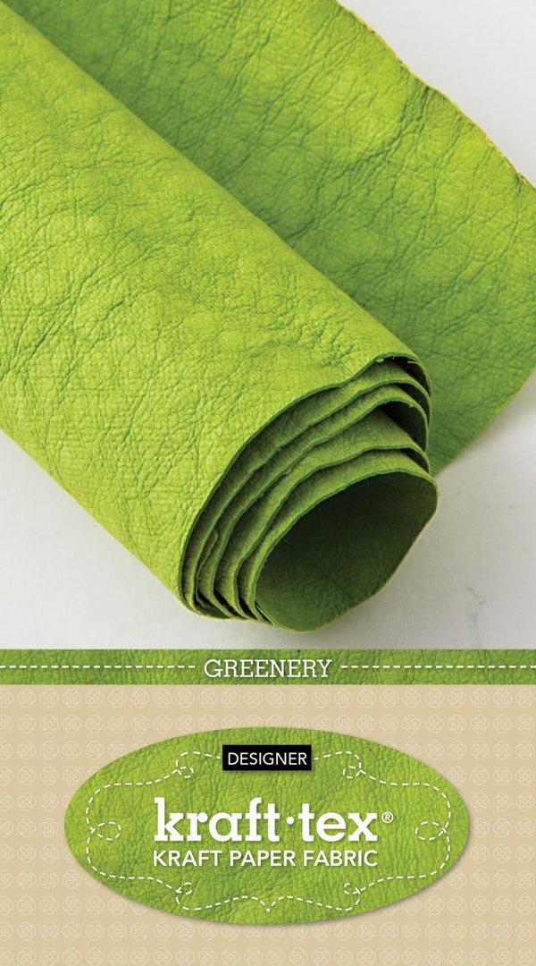 Kraft-Tex Roll Greenery Hand Dyed & Prewashed 20405CT 20382