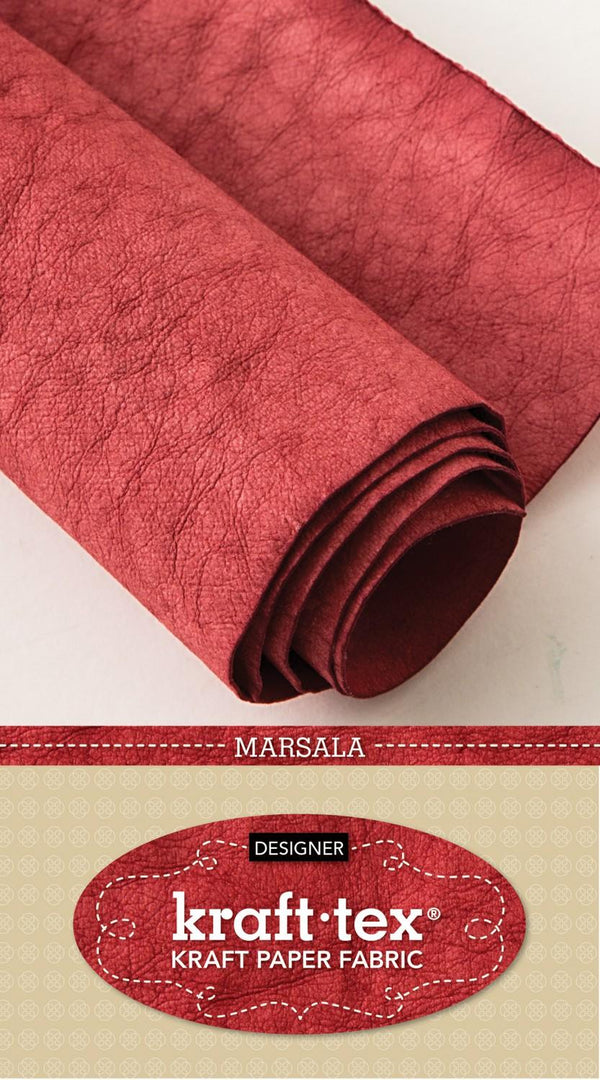 Kraft-Tex Roll Marsala Hand Dyed & Prewashed 20405CT 20385