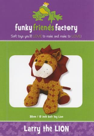 Larry The Lion  Pattern13in  Stuffed Soft Toy