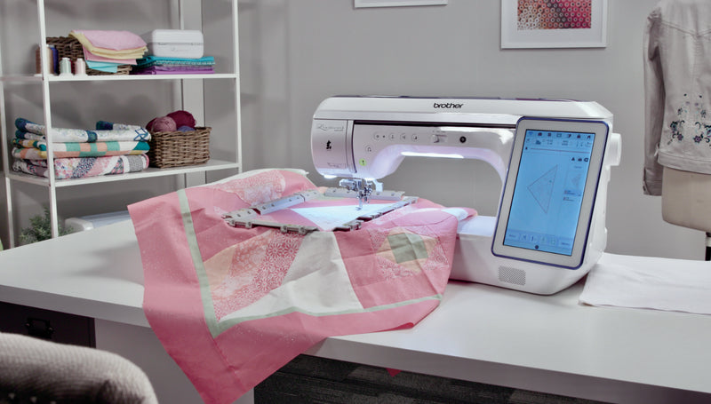 Brother Luminaire 2 XP2 Sewing and Embroidery Machine