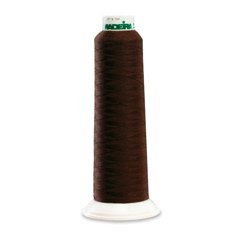 Madeira Poly Brown 2000YD Serger Thread - 91289290