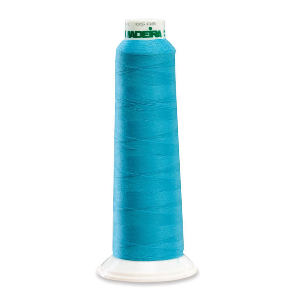 Madeira Poly Brt Turq 2000YD Serger Thread - 91289892