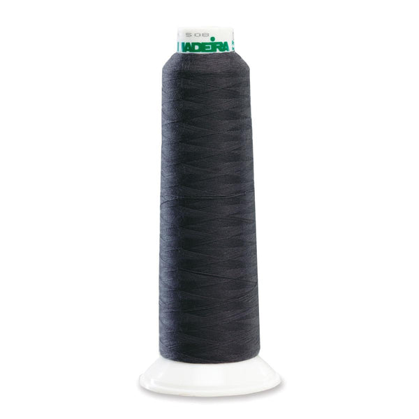 Madeira Poly Charcoal 2000YD Serger Thread - 91288401