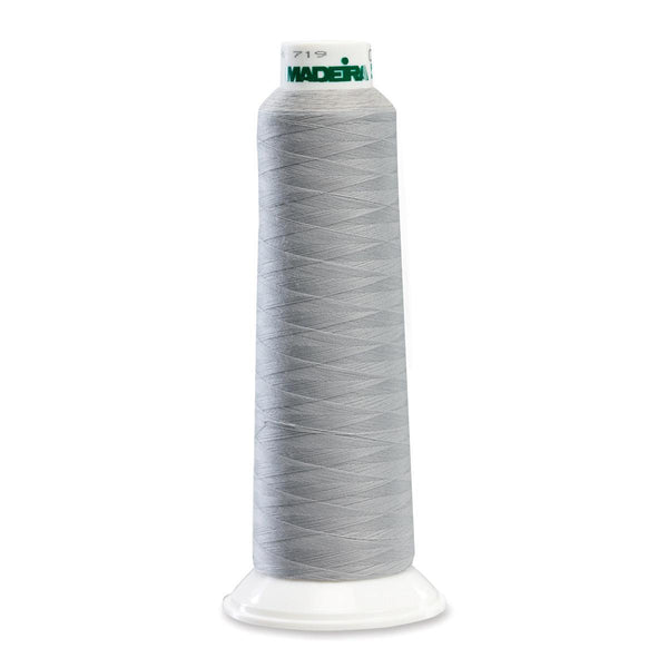Madeira Poly Lt Grey 2000YD Serger Thread - 91288100