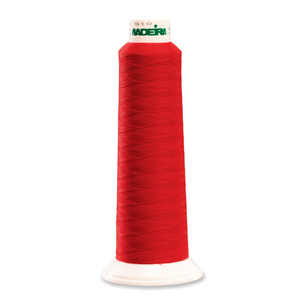 Madeira Poly Red 2000YD Serger Thread - 91288380