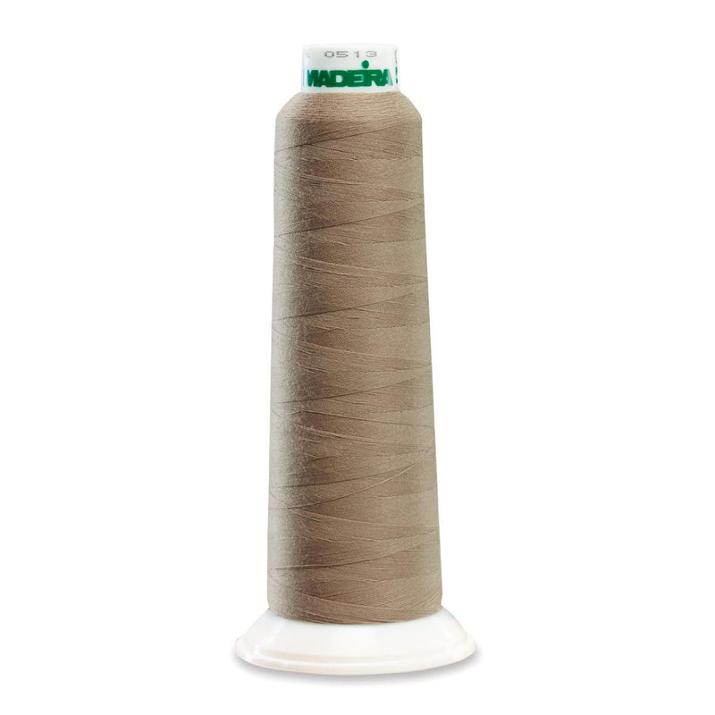 Madeira Poly Taupe 2000YD Serger Thread - 91289270