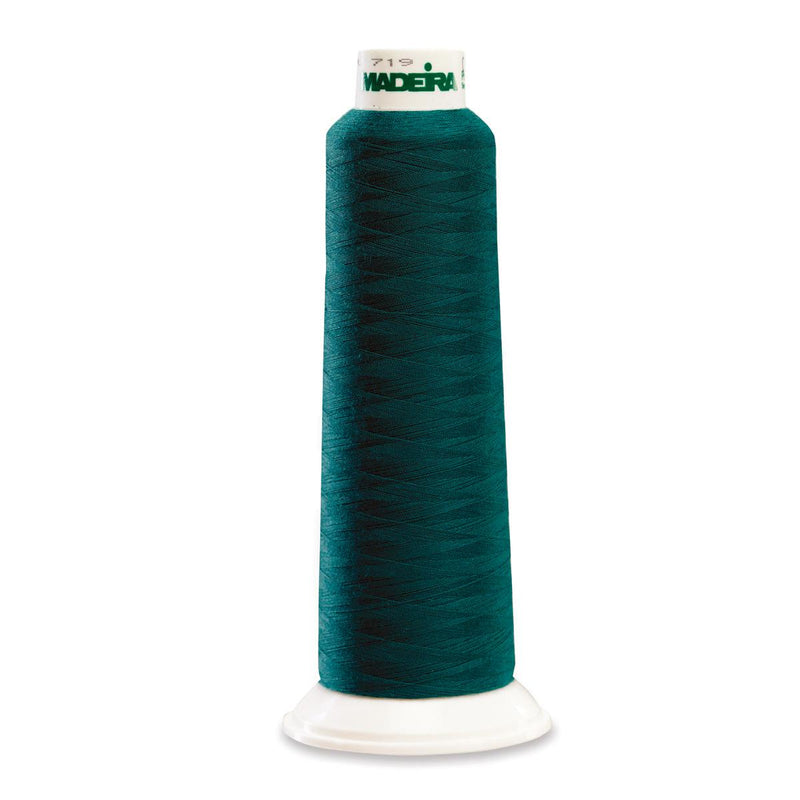 Madeira Poly Teal 2000YD Serger Thread - 91288790