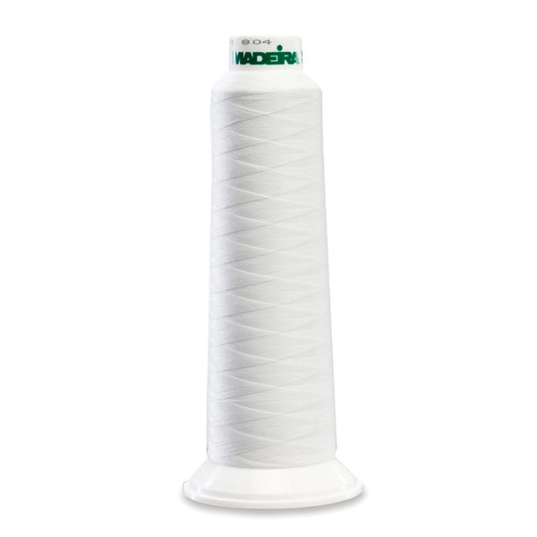 Madeira Poly White 2000YD Serger Thread - 91288010