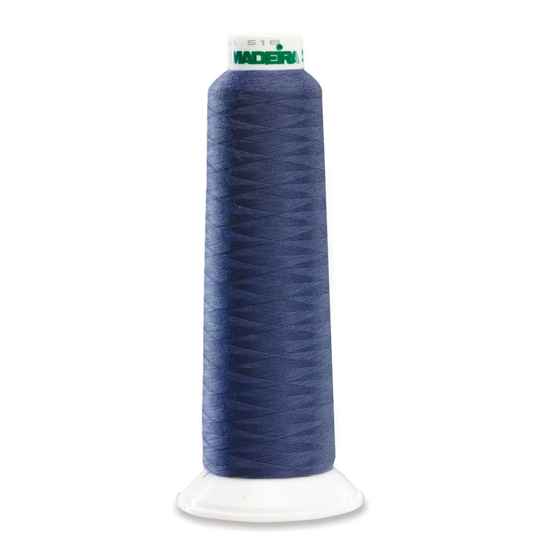 Madeira Poly Blue Steel 2000YD Serger Thread - 91288105