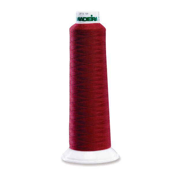 Madeira Poly Burgandy 2000YD Serger Thread - 91288811