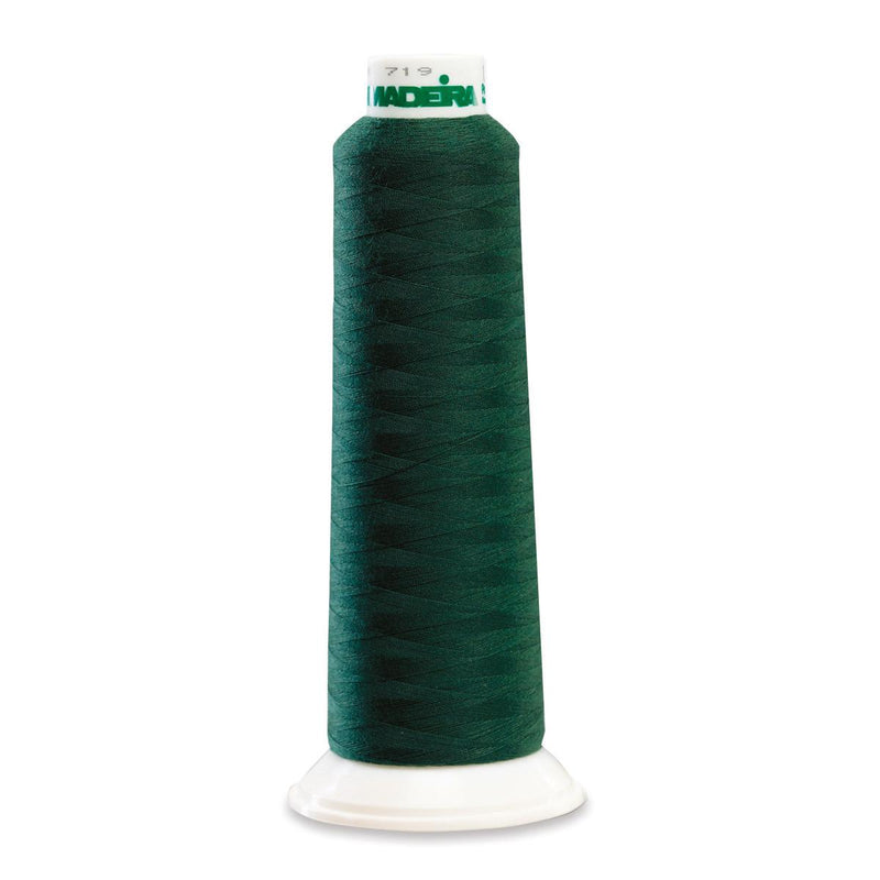 Madeira Poly Emerald Green 2000YD Serger Thread - 91288473