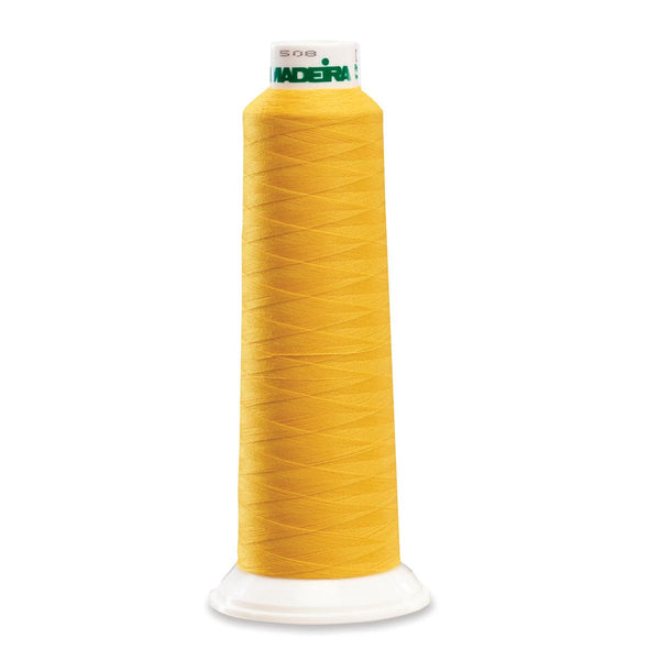 Madeira Poly Mustard 2000YD Serger Thread - 91289951