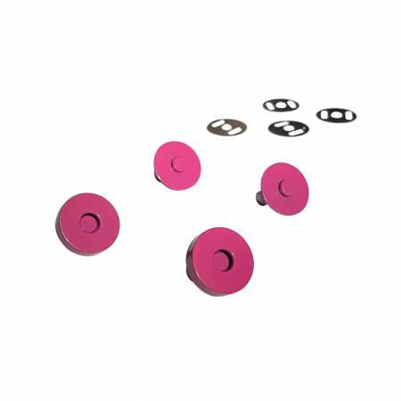 Magnetic Snaps-Pink set of 2  SASSKIT011D