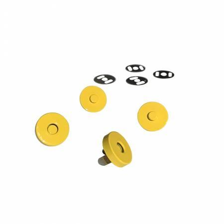 Magnetic Snaps-Yellow set of 2 SASSKIT011H