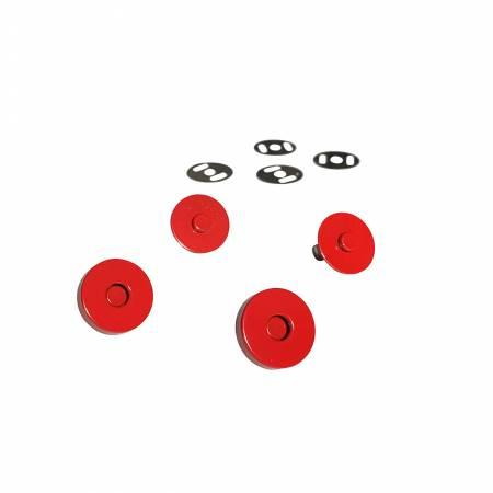 Magnetic SnapsRed set of 2 SASSKIT011C