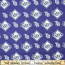 Major League Baseball Cotton Tampa Bay Rays 6656-B
