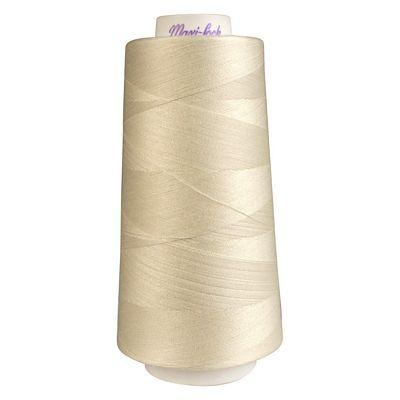 Maxi-Lock Polyester Serger Thread: 3000yds 50wt - Eggshell - 51-32674