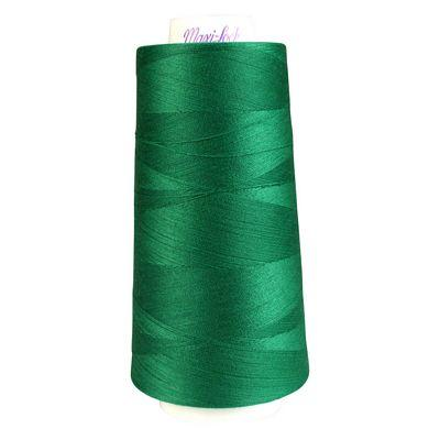 Maxi-Lock Polyester Serger Thread: 3000yds 50wt - Emerald - 51-32075